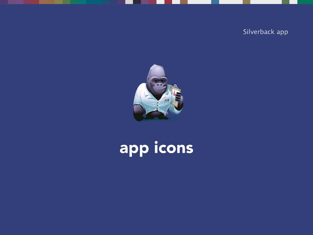 app icons Silverback app