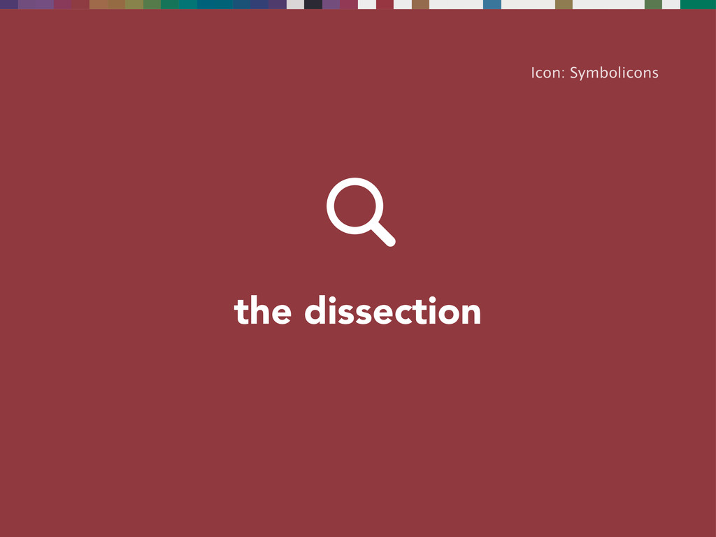 the dissection Icon: Symbolicons