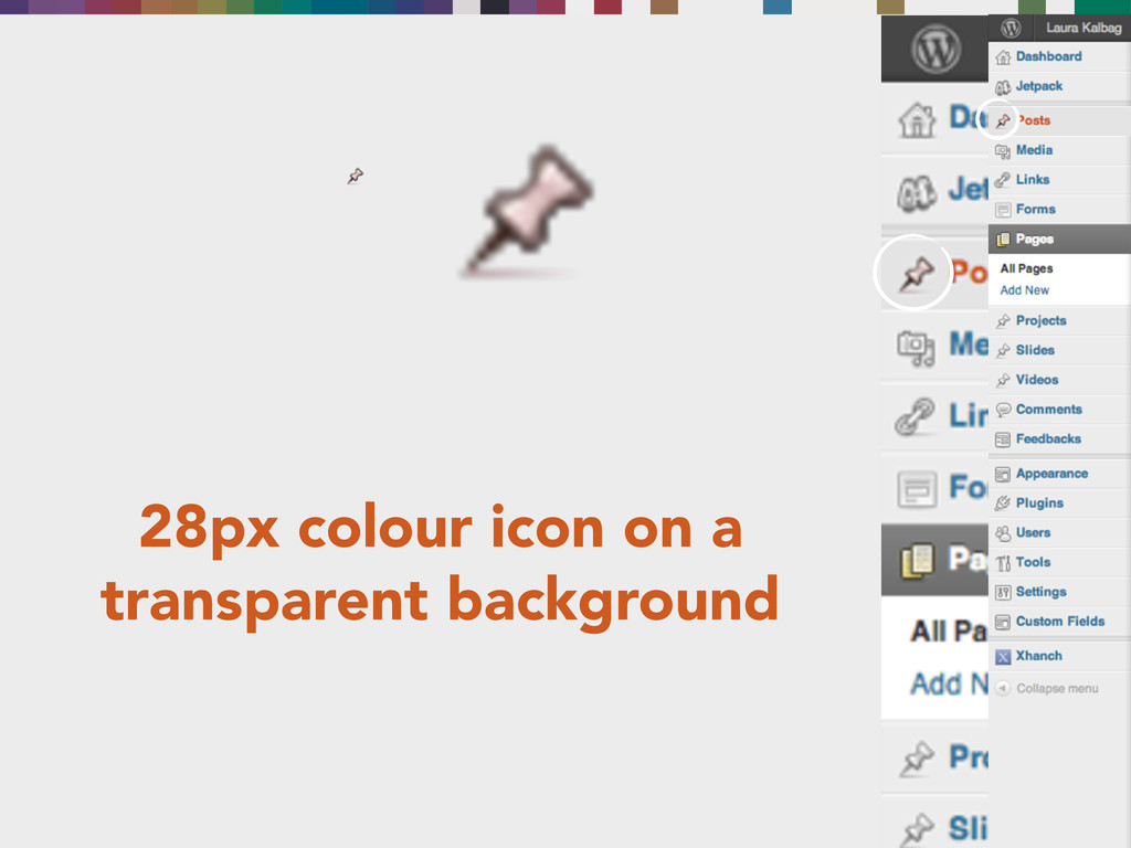 28px colour icon on a transparent background