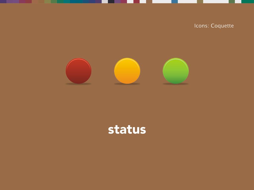 status Icons: Coquette