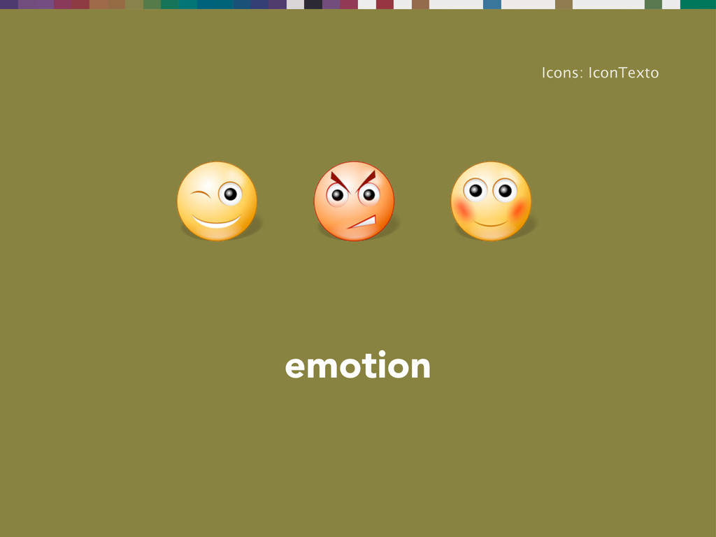 emotion Icons: IconTexto