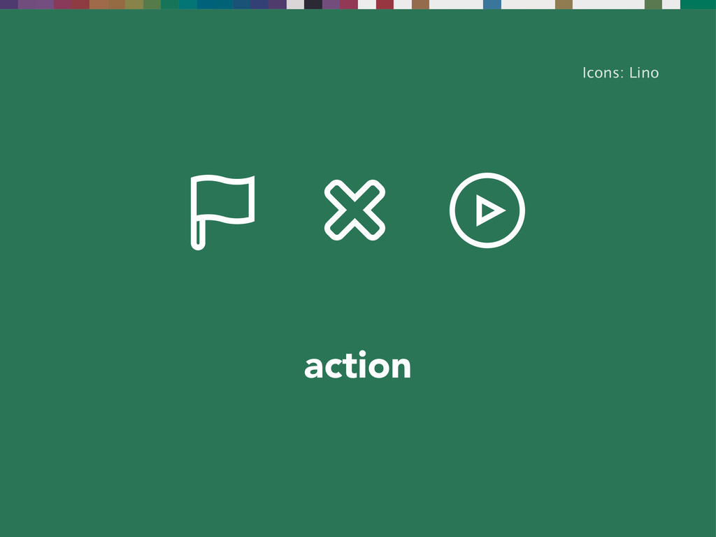 action Icons: Lino