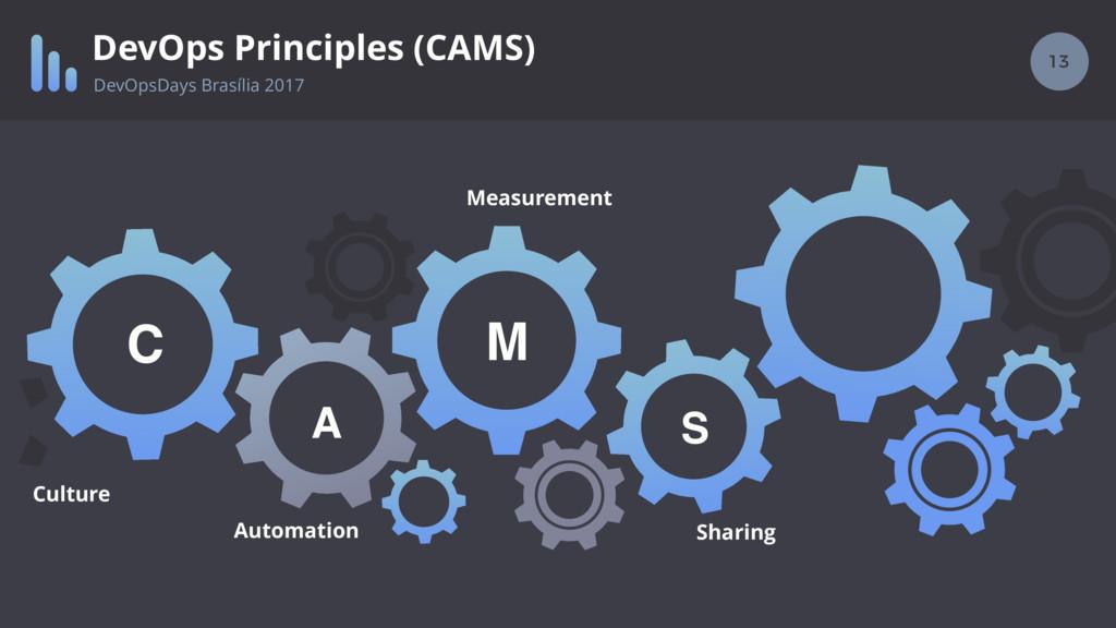 13 DevOps Principles (CAMS) S M A C Culture Aut...