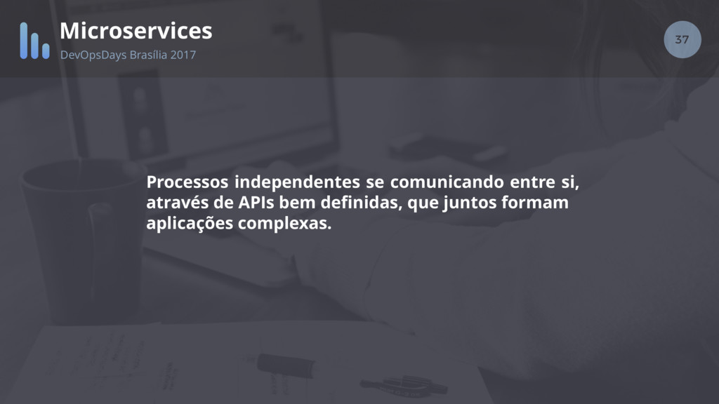 37 Microservices DevOpsDays Brasília 2017 Proce...