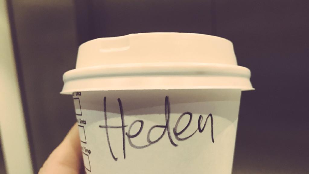 My name is Hidde