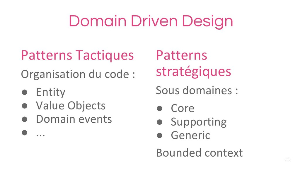 WHY ? Domain Driven Design Patterns stratégique...