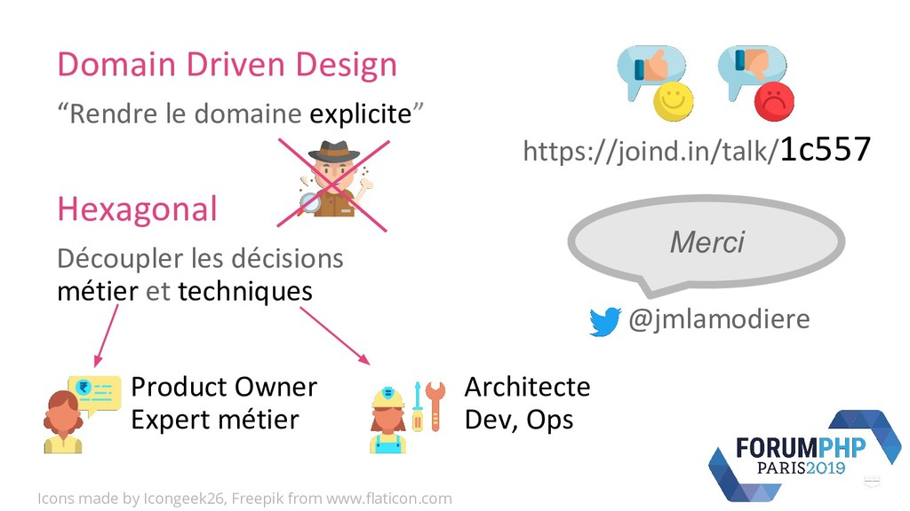 "Domain Driven Design ""Rendre le domaine explici..."