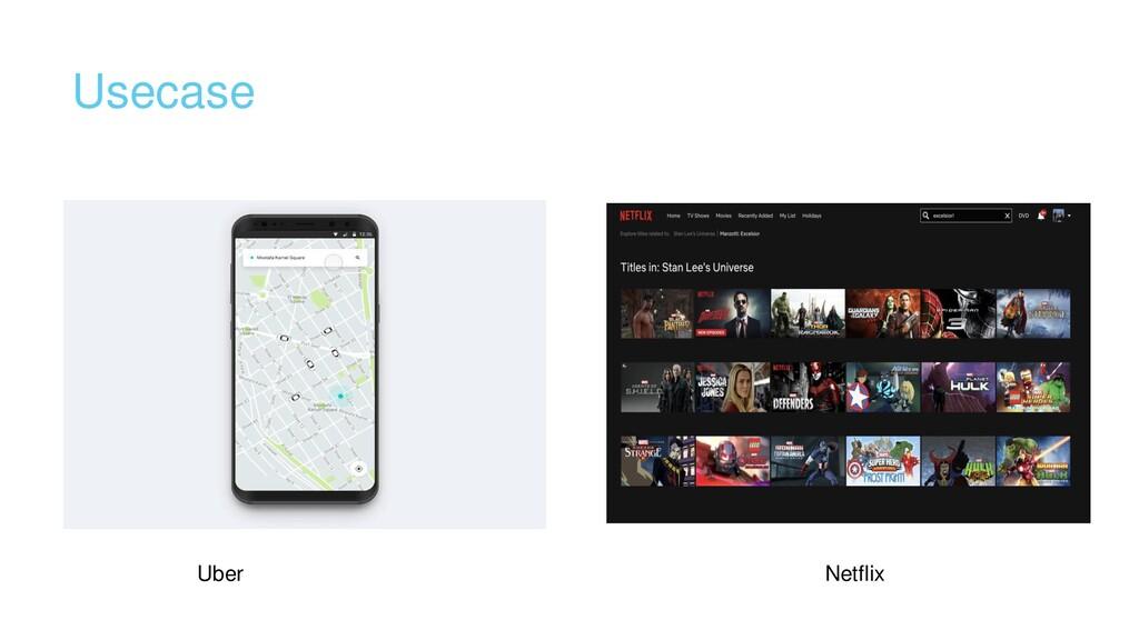 Usecase Uber Netflix