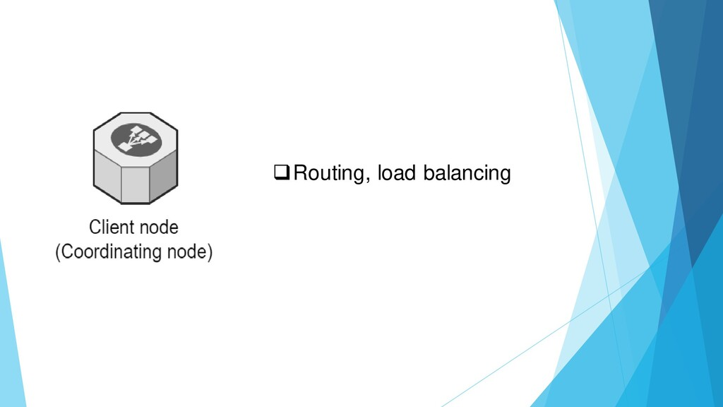 ❑Routing, load balancing