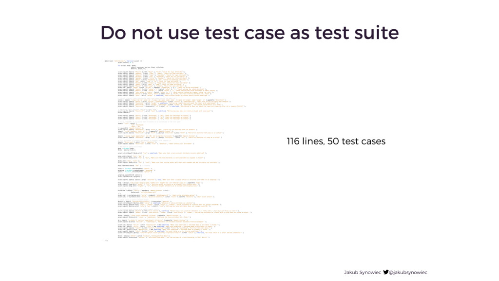 Jakub Synowiec @jakubsynowiec Do not use test c...
