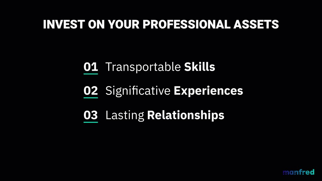 INVEST ON YOUR PROFESSIONAL ASSETS Transportabl...