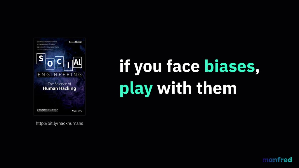if you face biases, play with them http://bit.l...