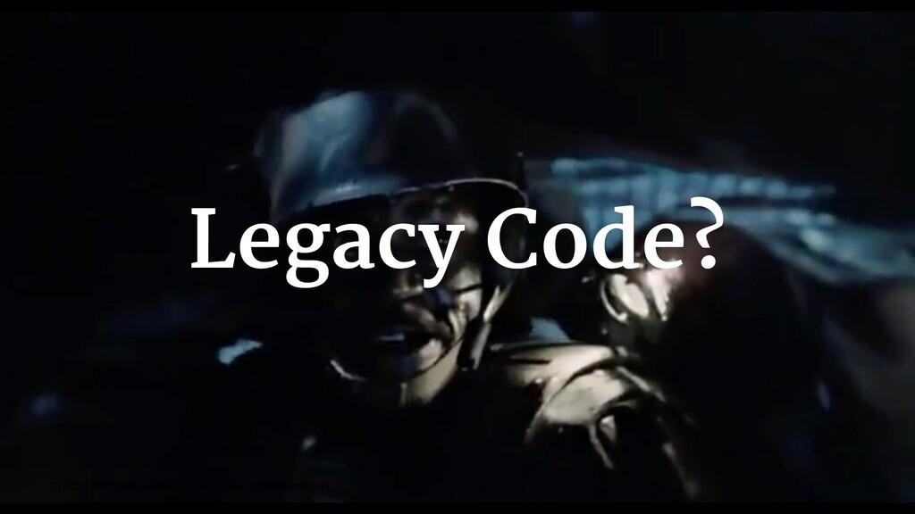 Legacy Code? twitter: @mirjam_diala | github/gi...