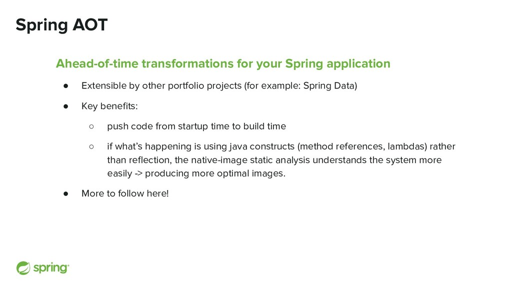 Ahead-of-time transformations for your Spring a...