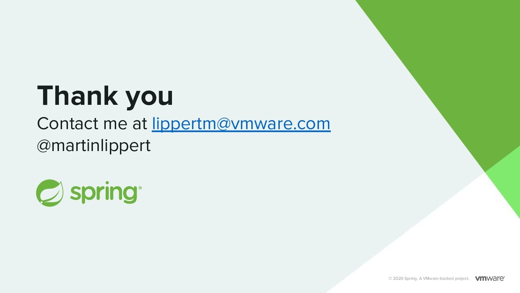 Thank you Contact me at lippertm@vmware.com @ma...