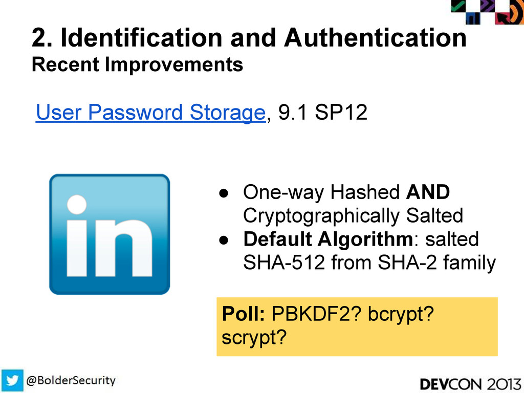 2. Identification and Authentication Recent Imp...