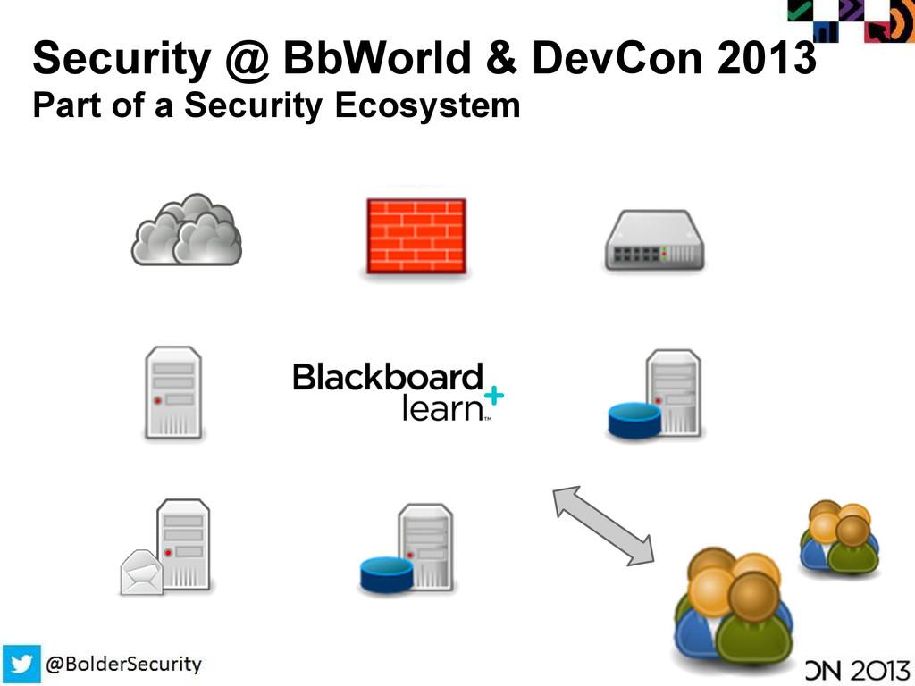 Security @ BbWorld & DevCon 2013 Part of a Secu...