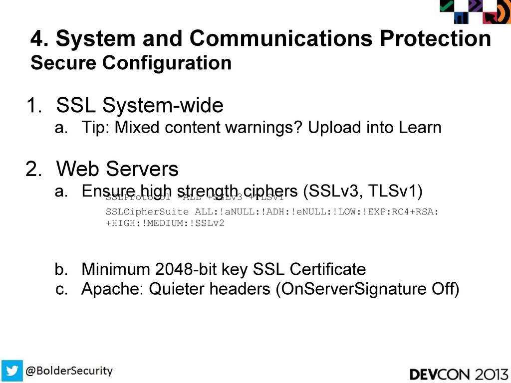 4. System and Communications Protection Secure ...