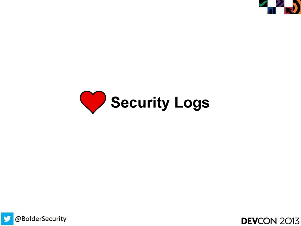 Security Logs