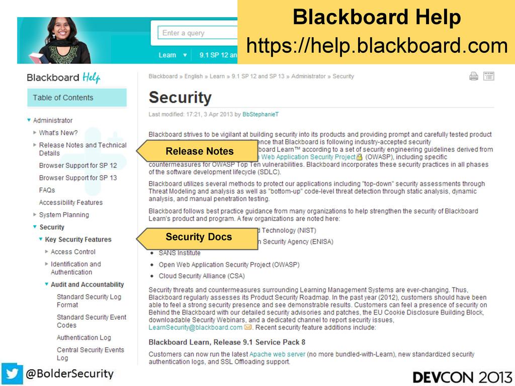 Blackboard Help https://help.blackboard.com Rel...