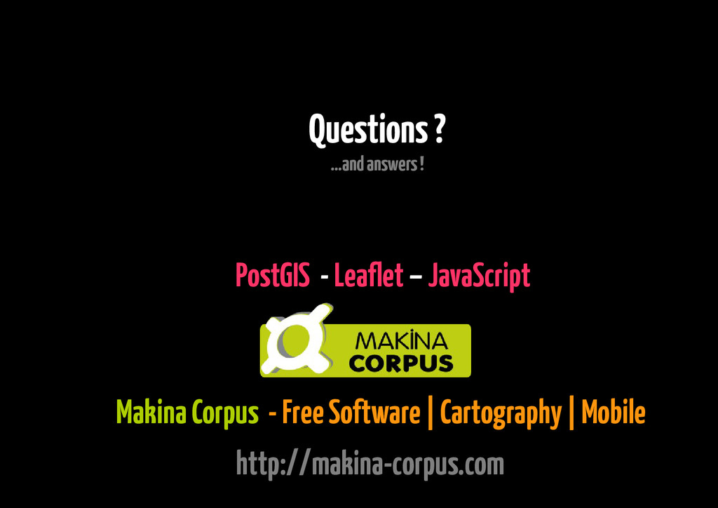 Makina Corpus - Free Software | Cartography | M...