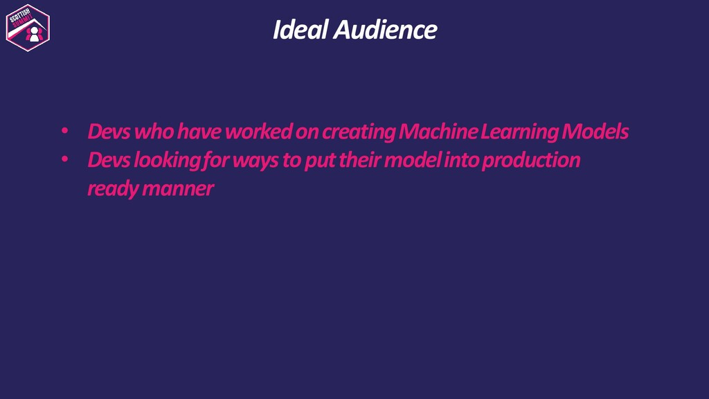 • Devs who have worked on creating Machine Lear...
