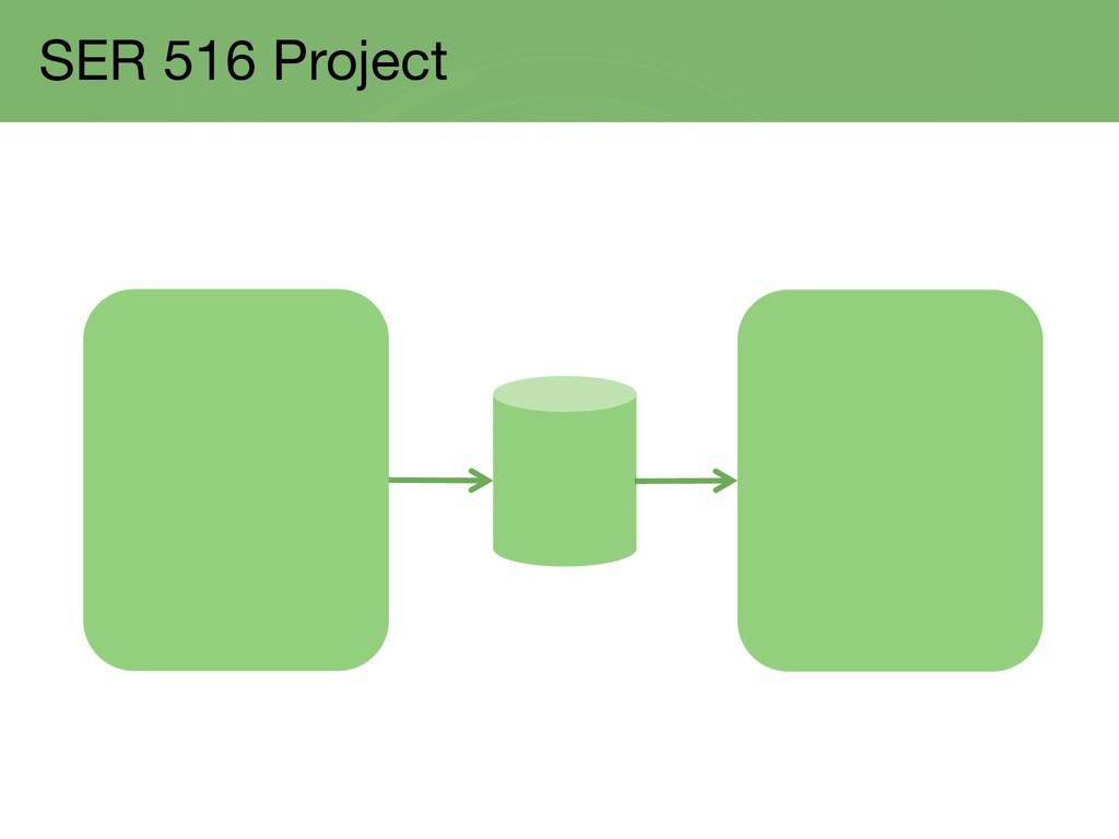 SER 516 Project