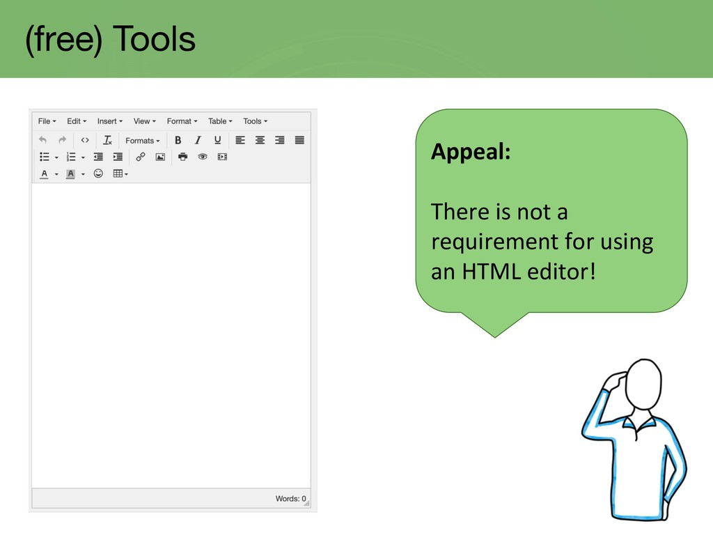 (free) Tools Appeal: There is not a requirement...
