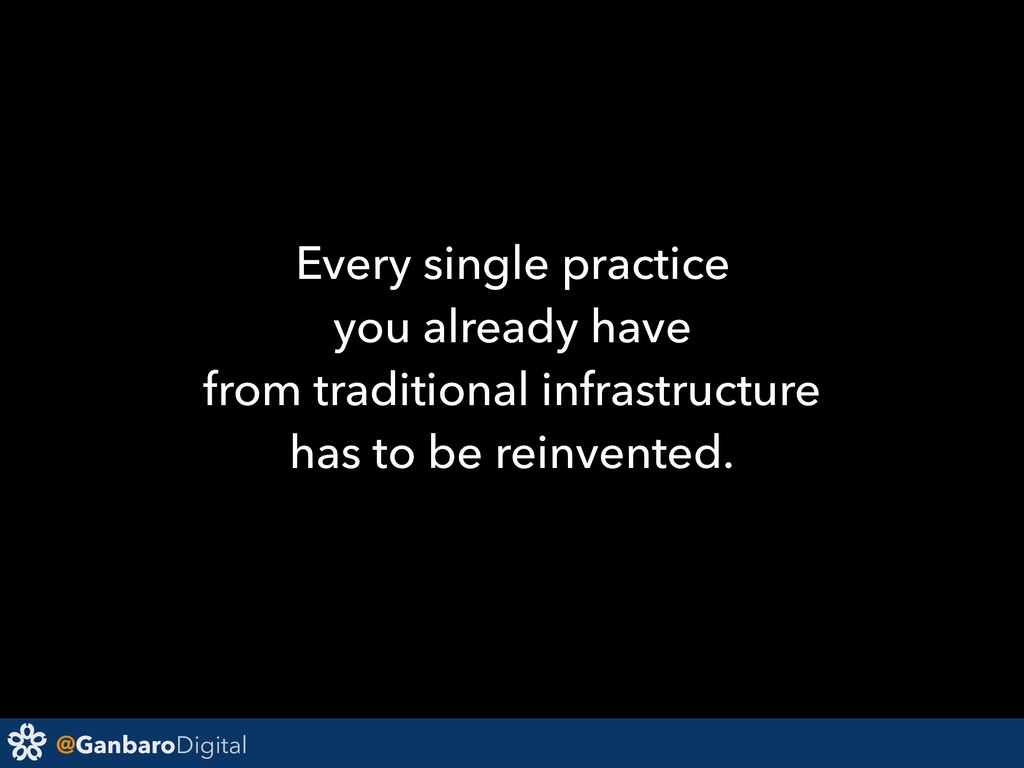 @GanbaroDigital Every single practice you alrea...