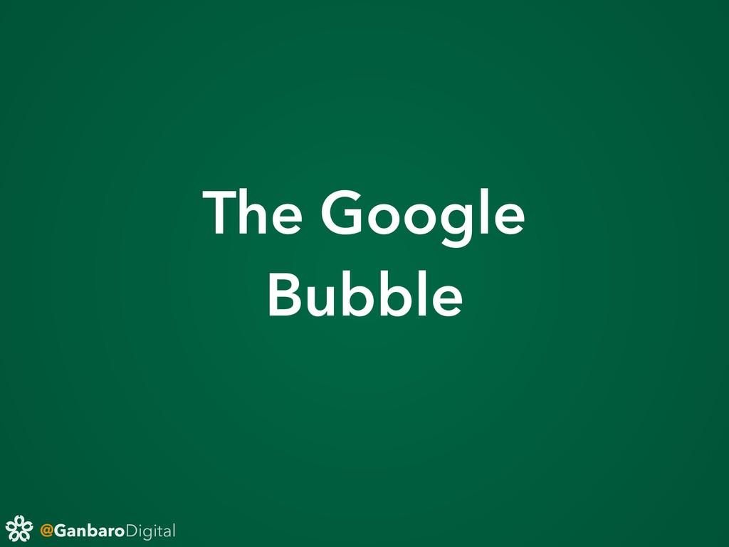 @GanbaroDigital The Google Bubble
