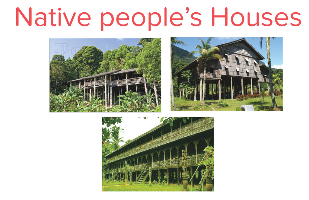 Native people's Houses