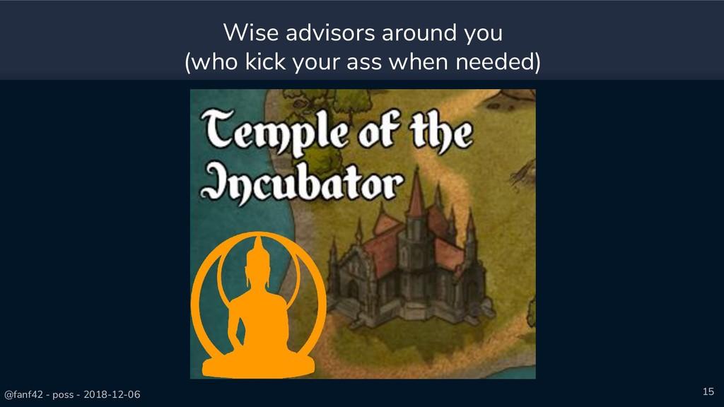 @fanf42 - poss - 2018-12-06 15 Wise advisors ar...