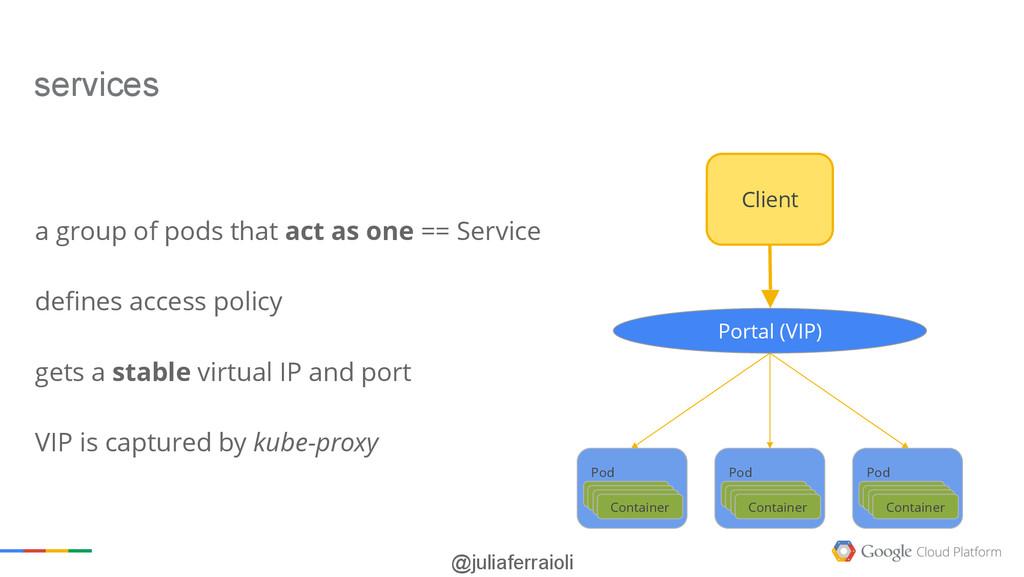 @juliaferraioli Portal (VIP) Client Pod Contain...