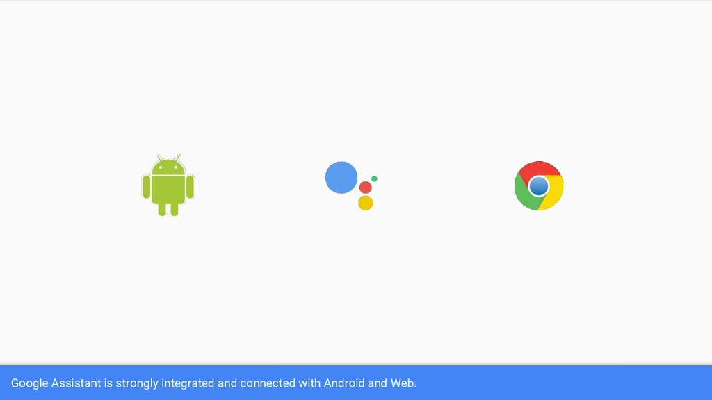 Google Assistant is strongly integrated and con...