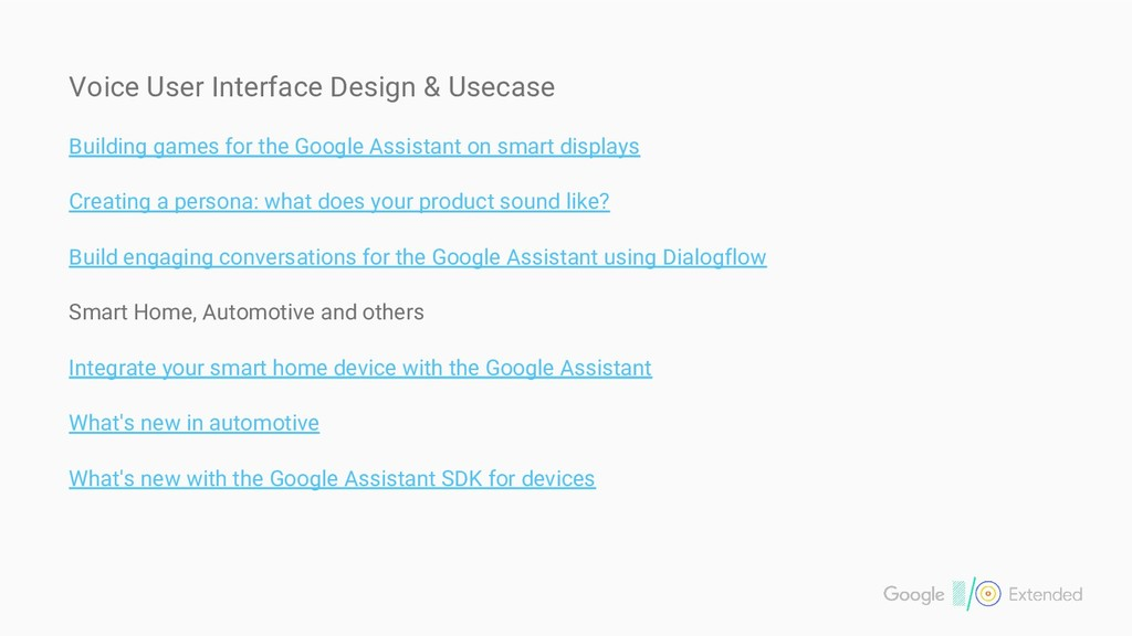 Voice User Interface Design & Usecase Building ...