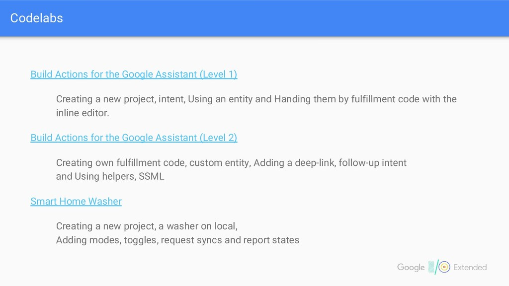 Build Actions for the Google Assistant (Level 1...