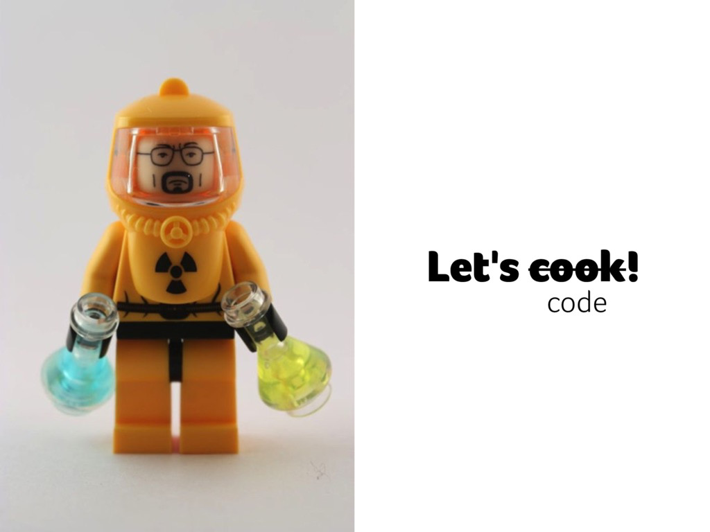 Let's cook! code