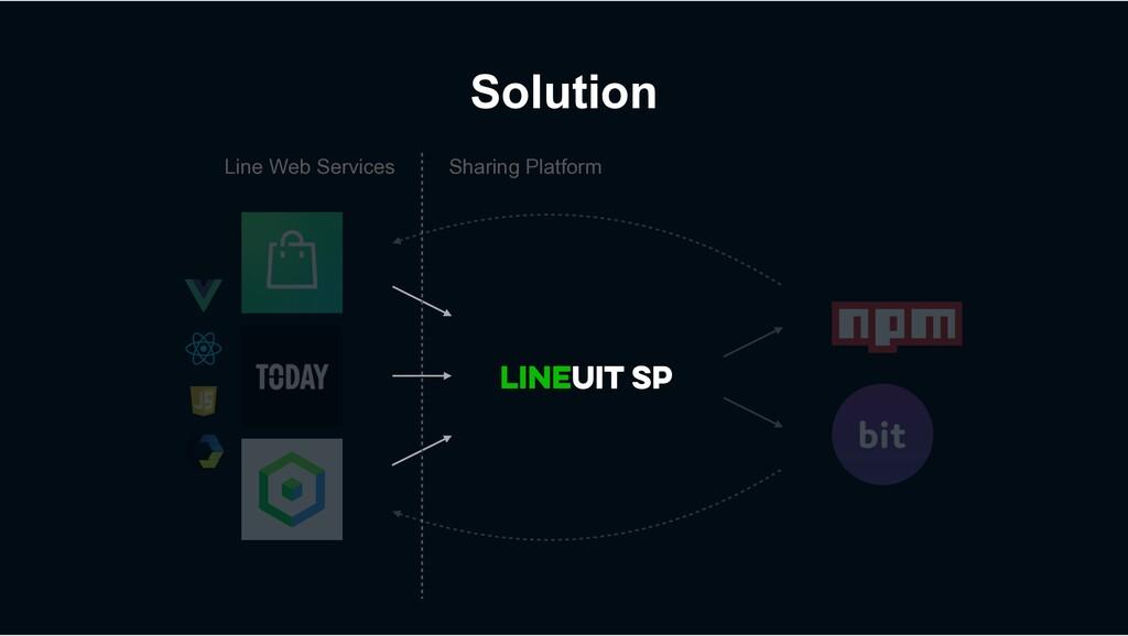 Solution Line Web Services Sharing Platform