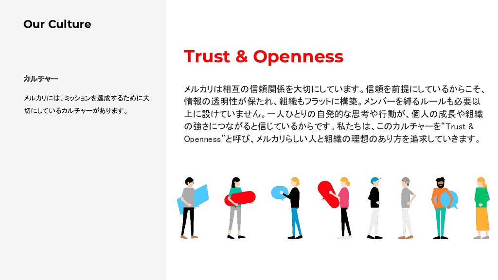 Our Culture Trust & Openness 
