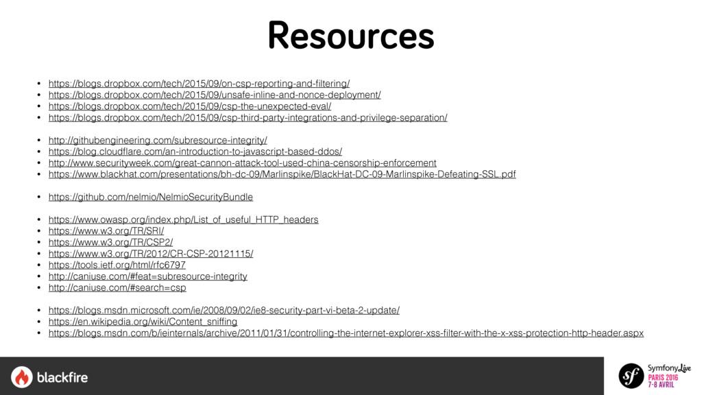 Resources • https://blogs.dropbox.com/tech/2015...