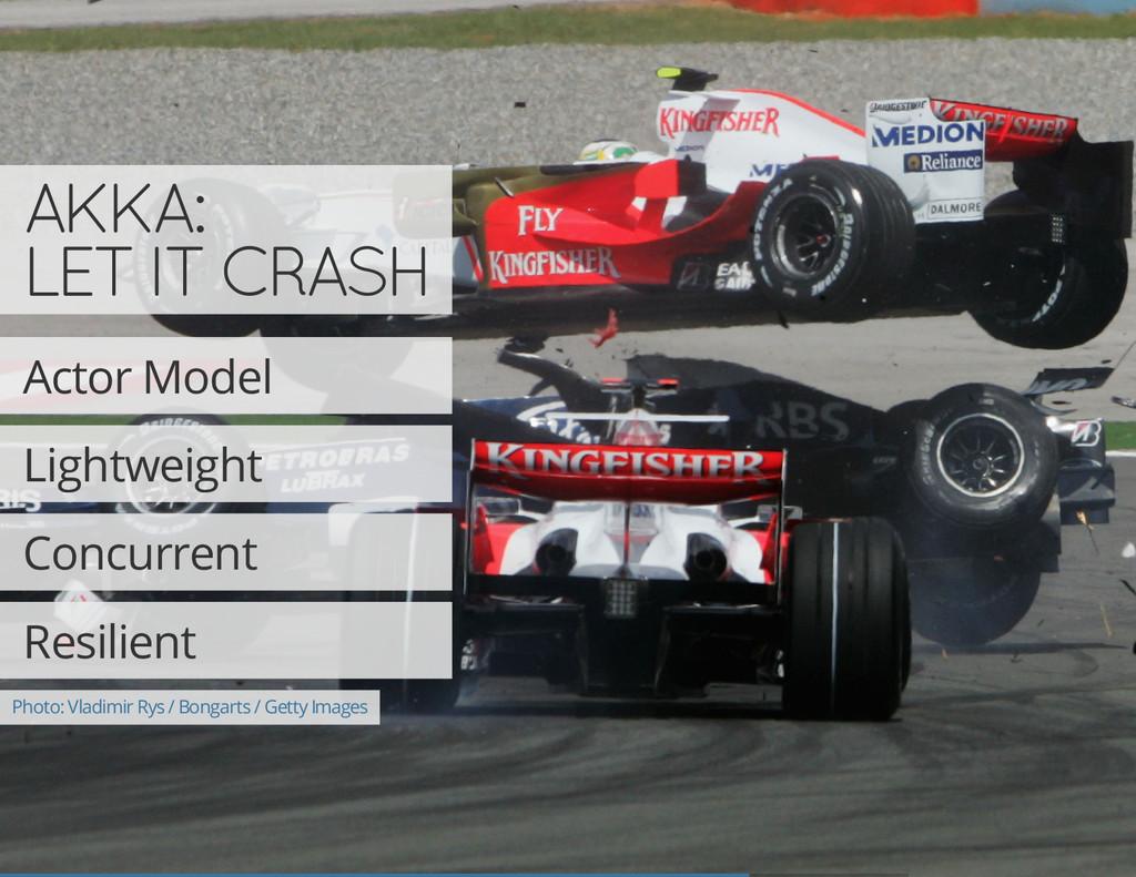 AKKA: LET IT CRASH Actor Model Lightweight Conc...