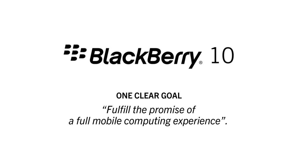 """""""Fulfill the promise of a full mobile computing ..."""