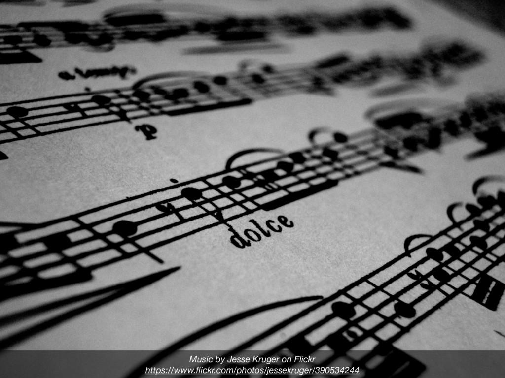 Music by Jesse Kruger on Flickr https://www.flic...