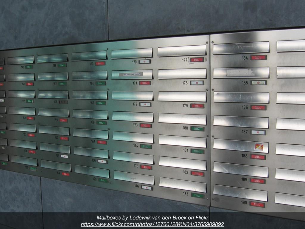 Mailboxes by Lodewijk van den Broek on Flickr h...