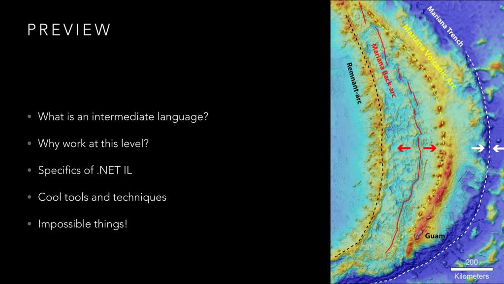 P R E V I E W • What is an intermediate languag...