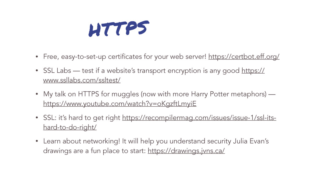 HTTPS • Free, easy-to-set-up certificates for y...