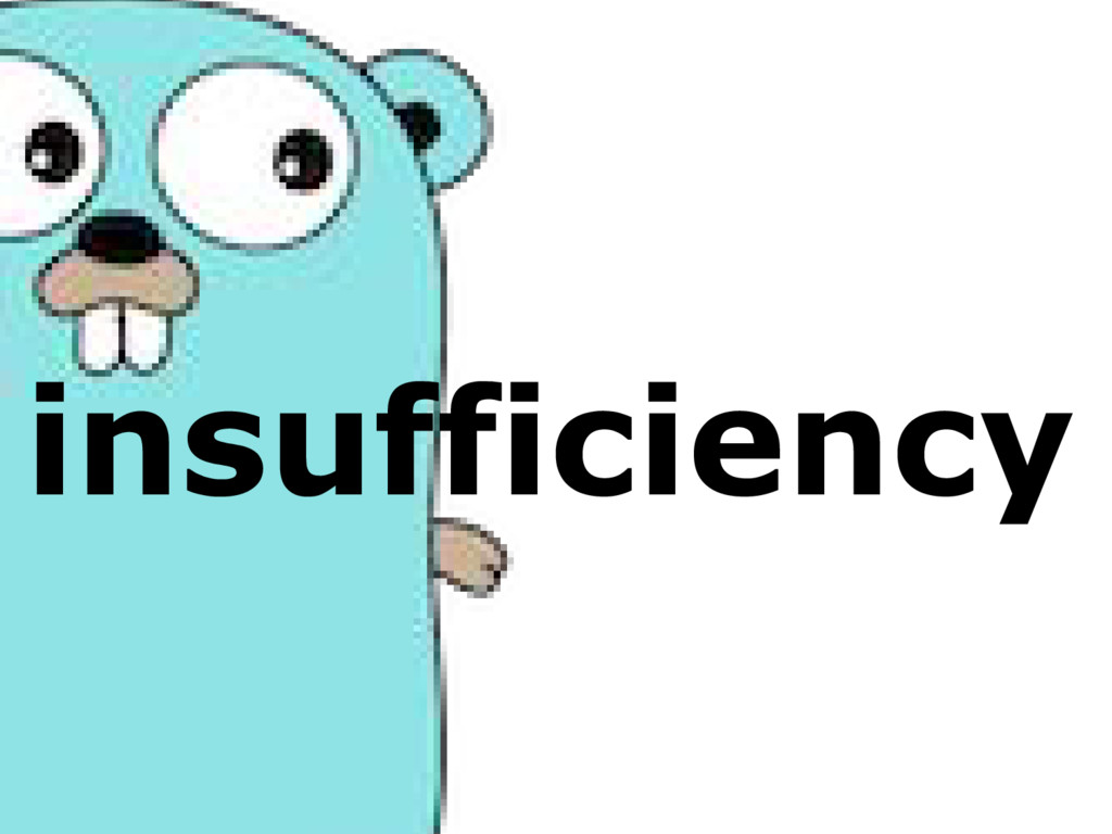 insufficiency