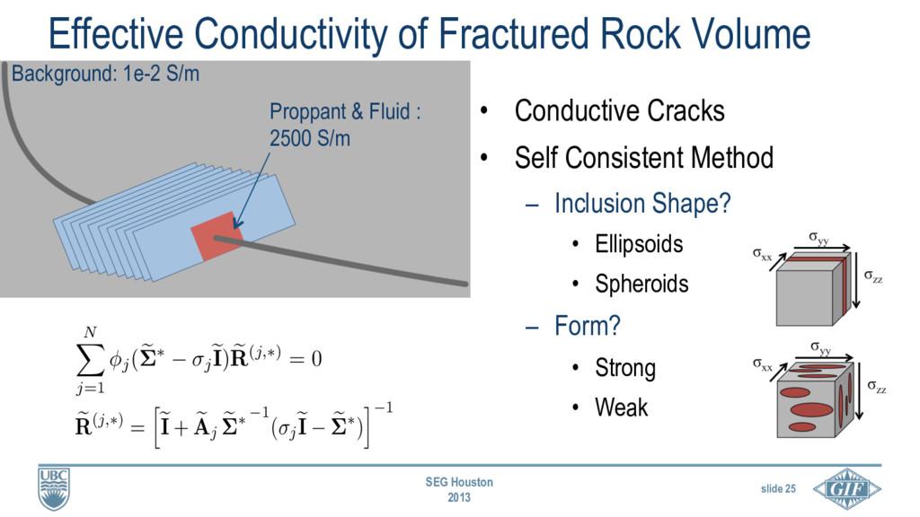 slide 25 SEG Houston 2013 Effective Conductivit...