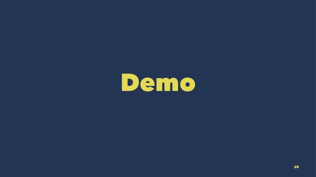 Demo 28
