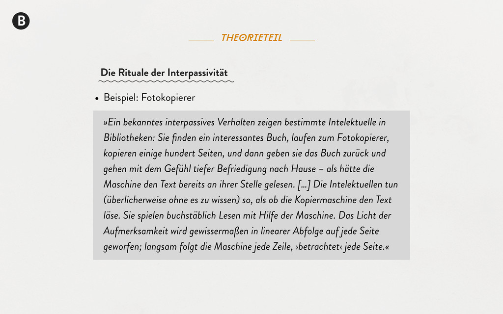 B theorieteil • Beispiel: Fotokopierer »Ein bek...
